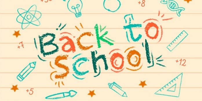 Monday, August 26 - Back to School