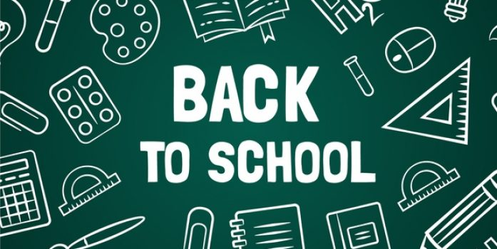 Tuesday, August 27 - Back to School