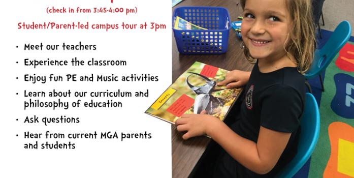Sunday, February 23 - Kindergarten Roundup